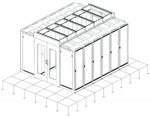 ethernet_es Data Center Cold Pool System esquema